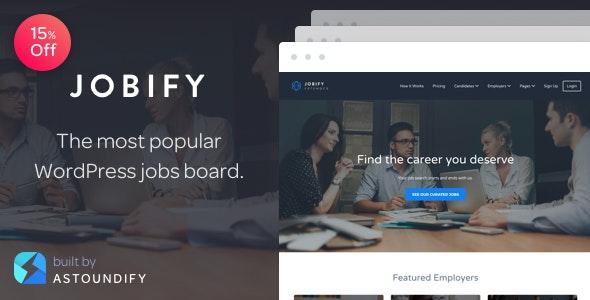 Jobify - Job Board WordPress Theme