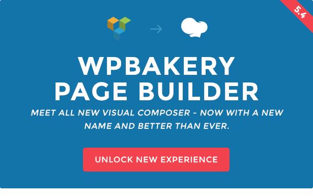 WPBakery ページビルダー:旧Visual Composer WordPressのページビルダー
