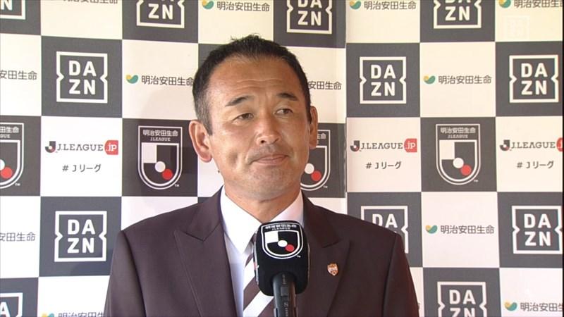 初陣を勝利で飾った平岡監督