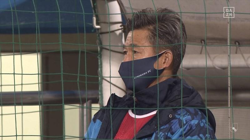 2020年 横浜FC VS 清水エスパルス 出番のなかったカズ
